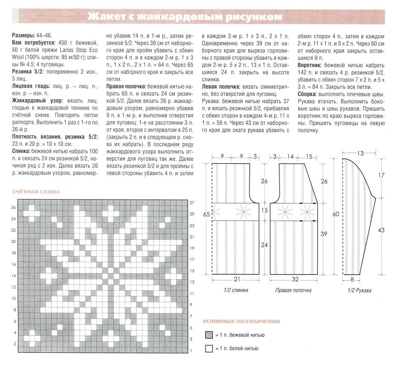 Технология вязания воротников